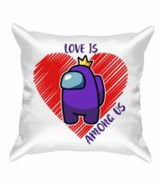 Подушка Love AMONG US