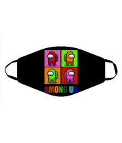 Маска Among us rainbow