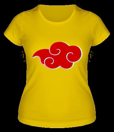 Женская футболка Akatsuki Naruto