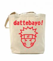 Сумка повседневная Naruto dattebayo!