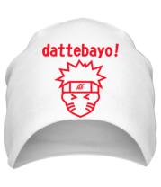 Шапка Naruto dattebayo!