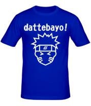 Мужская футболка Naruto dattebayo!