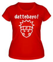Женская футболка Naruto dattebayo!