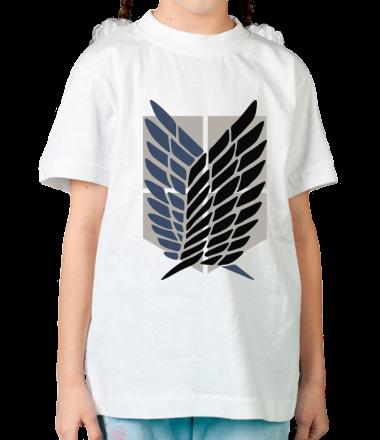 Детская футболка Атака Титанов