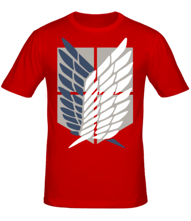 Мужская футболка Атака Титанов