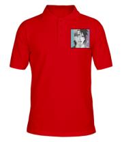 Мужская футболка поло Naruto and Sasuke boys