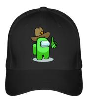 Бейсболка Салатовый в шляпе из Амонг ас.