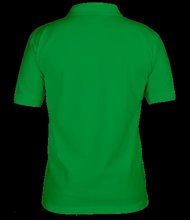 Мужская футболка поло Салатовый в шляпе из Амонг ас.
