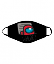 Маска Where? ( Among Us )