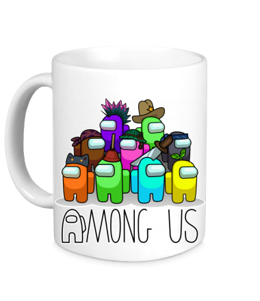 Кружка AMONG US - Семейное фото