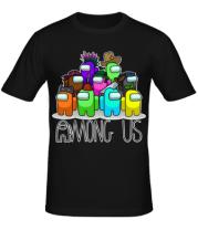 Мужская футболка AMONG US - Семейное фото