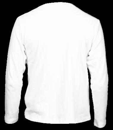 Мужская футболка длинный рукав Так хочется жить без мата