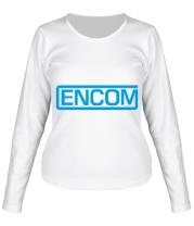 Женская футболка длинный рукав Encom