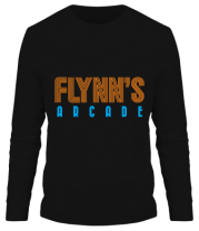 Мужская футболка длинный рукав Flynn
