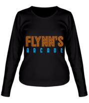 Женская футболка длинный рукав Flynn