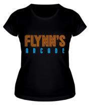 Женская футболка Flynn