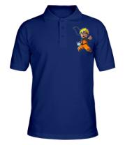 Мужская футболка поло Crazy Naruto