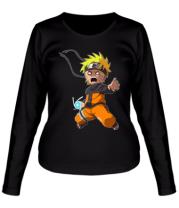 Женская футболка длинный рукав Crazy Naruto
