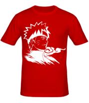 Мужская футболка Naruto Uzumaki head