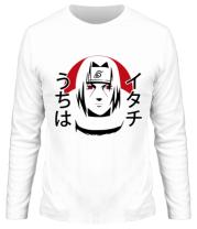 Мужская футболка длинный рукав  Itachi Art