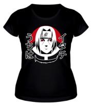 Женская футболка  Itachi Art