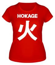 Женская футболка Hokage Naruto