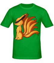 Мужская футболка  Курама - Наруто