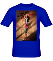 Мужская футболка Игра в кальмара постер