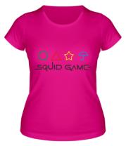 Женская футболка Logo Игра в кальмара