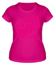 Женская футболка Маски в кальмара