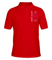 Мужская футболка поло Лого Игра в кальмара 3