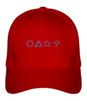 Бейсболка Лого Игра в кальмара 3d