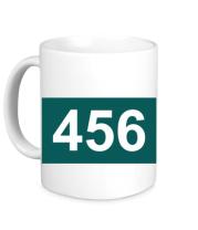 Кружка 456 Игра в кальмара форма