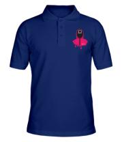 Мужская футболка поло Квадрат Игра