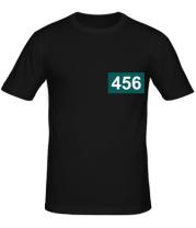 Мужская футболка Игрок 456 (любую цифру)