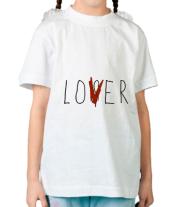 Детская футболка  LOVER