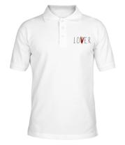 Мужская футболка поло LOVER ОНО