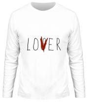Мужская футболка с длинным рукавом LOVER ОНО