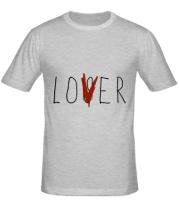 Мужская футболка  LOVER