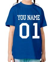 Детская футболка  С именем