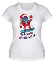 Женская футболка  Удачного года