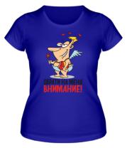 Женская футболка  Обрати внимание