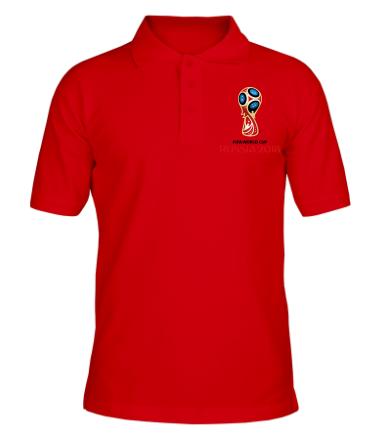 Футболка поло мужская Чемпионат 2018