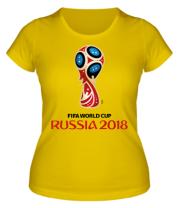 Женская футболка  Чемпионат 2018