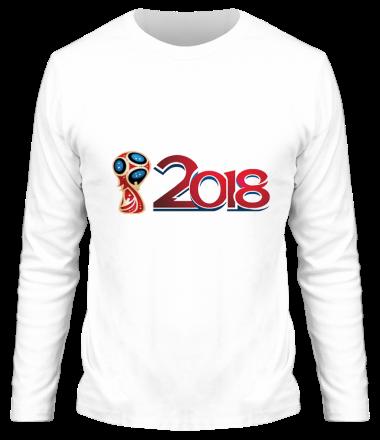 Мужская футболка с длинным рукавом Чемпионат 2018