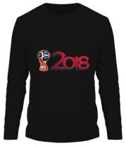 Мужская футболка длинный рукав Чемпионат 2018