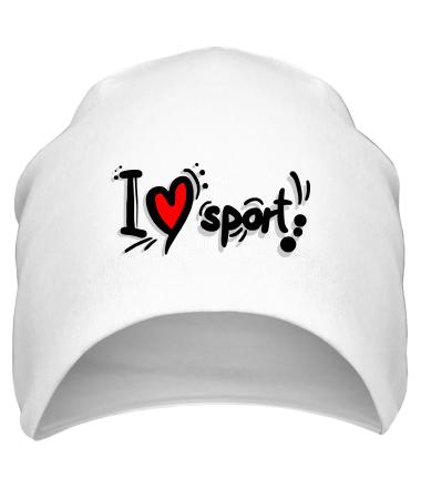 Шапка Я люблю спорт