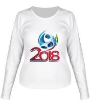 Женская футболка с длинным рукавом Чемпионат 2018