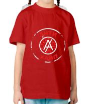 Детская футболка Антихайп логотип