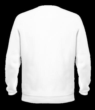 Толстовка без капюшона Антихайп логотип